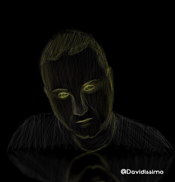 Portrait black&lines